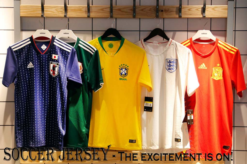 Soccer Jersey - The excitement is on!