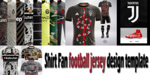 The Correct Football Shirt Fan football jersey design template