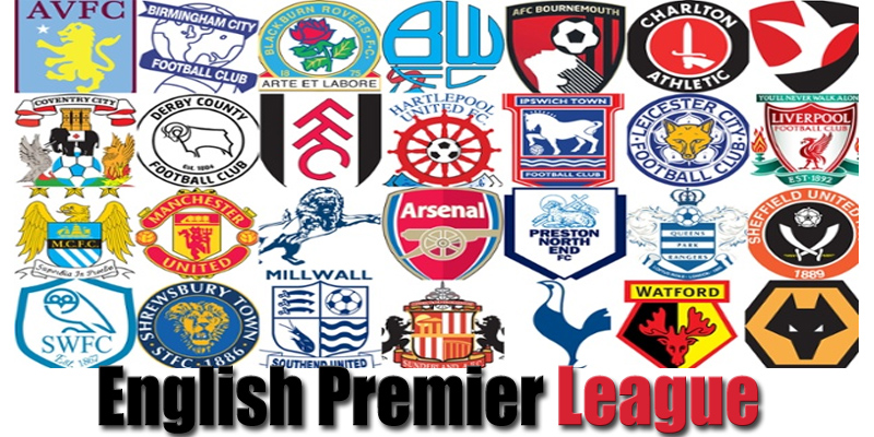 English Premier League Standings champions balls