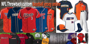 Locating That Ideal NFL Throwback custom baseball jersey online