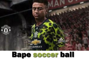 Bape soccer ball