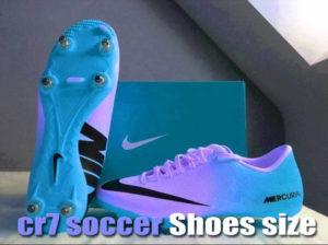 Soccer nike cr7 prestige soccer Shoes size