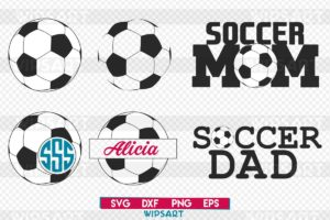 Christmas Ball On White Background Free Soccer Ball Svg Cut File
