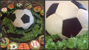 How To Make A Soccer Ball Cake Free Printable Soccer Ball Stencil