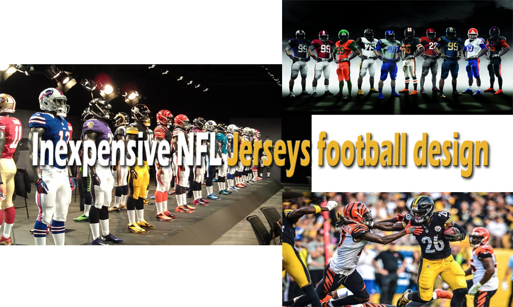 Inexpensive NFL Jerseys football design