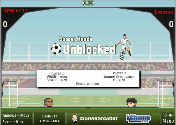 Multiplayer Games At Unblocked Games Head Soccer 2019