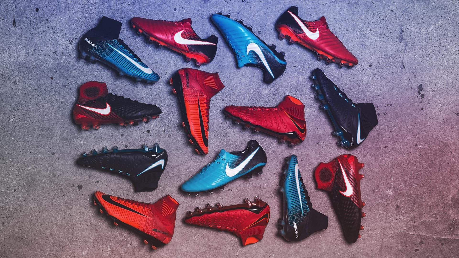 Nike Launch The Fire & Ice Football Boot Pack Nike Fire And Ice Soccer Cleats