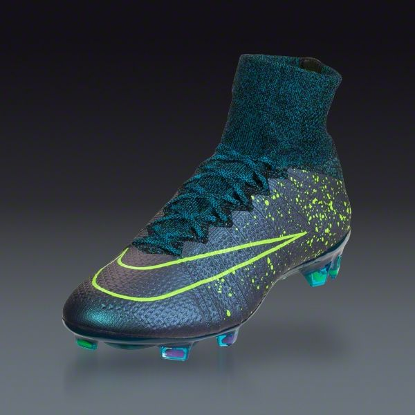 Nike Mercurial Fg Green Blue Black Soccer Boots Washington Dc Nike Acc Soccer Cleats For Sale