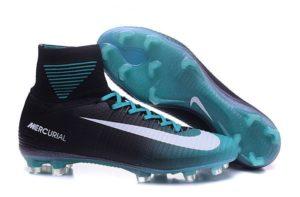 Nike Soccer Footwear High Top Mercurial Soccer Cleats