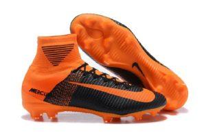 Soccer Nike FootwearBlack And Orange Soccer Cleats