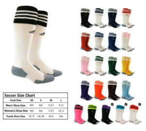 Soccer Socks Sizing Guide Toddler Soccer Cleats Size 9c