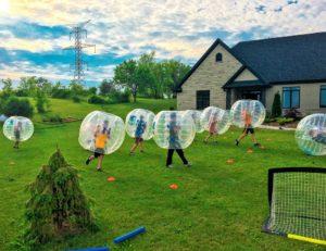 The Bubble Is Back Bubble Soccer Rentals Hamilton