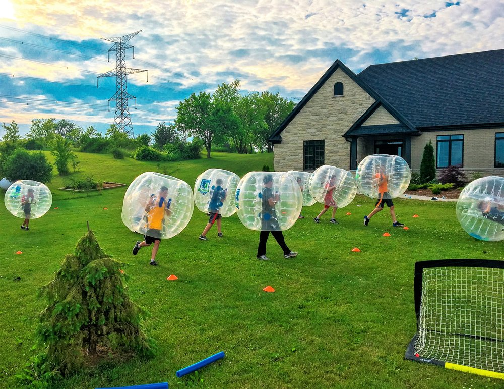The Bubble Is Back Bubble Soccer Rentals Hamilton