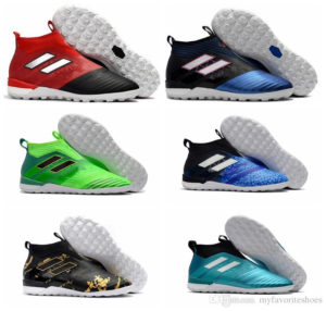 Turf Soccer Shoes Leather Turf Soccer Shoes