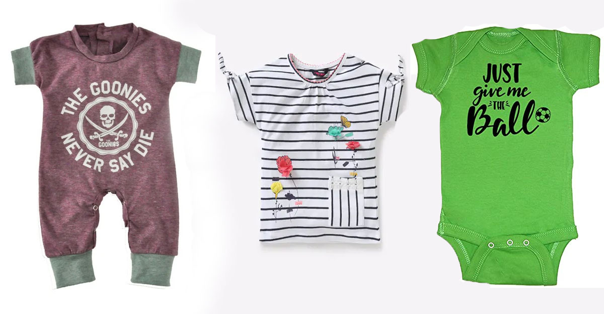 Giving Trendy Clothing to Babies and Toddlers
