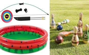 Summertime Outdoor Sports Equipment List